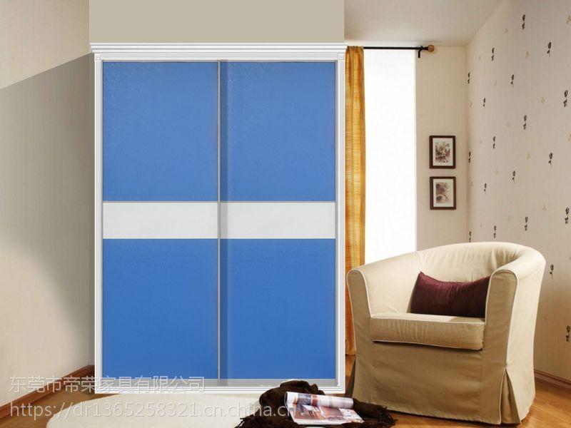衣柜推拉门的颜色搭配也是一门必修课