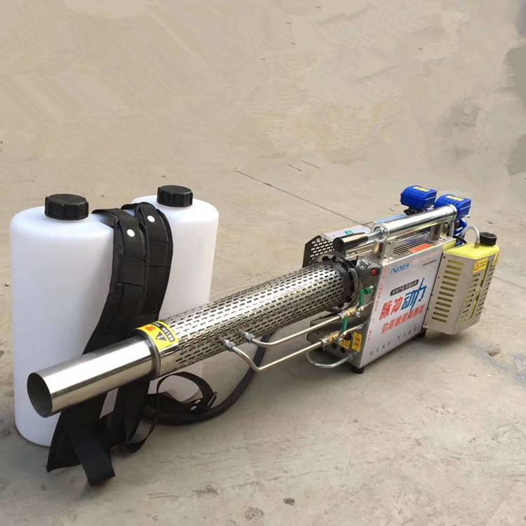 果园用省时省力120水雾烟雾两用打药机 效率高节能电动弥雾机 乐丰牌