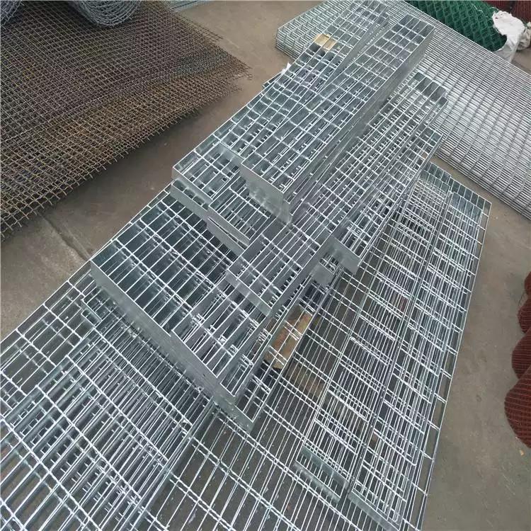 安平钢格栅 花岗岩踏步板规格 楼梯踏步板批发