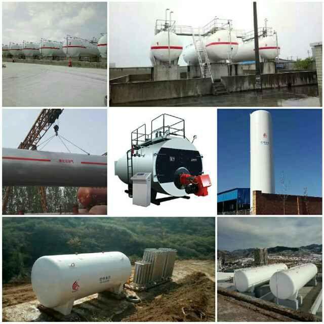 100立方液化天然气储罐使用-菏锅集团,压力容器生产基地专业制造。