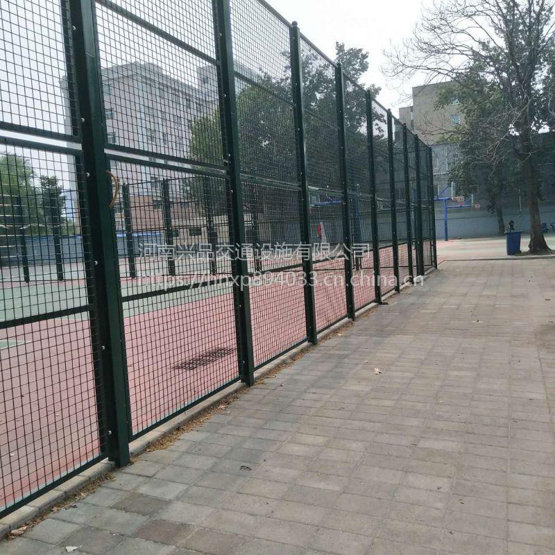 河南郑州厂家直销体育场围墙网 球场勾花护栏网