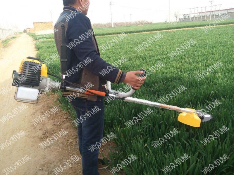道具除草干净 汽油茶园松土除草机 便携背负式割草机