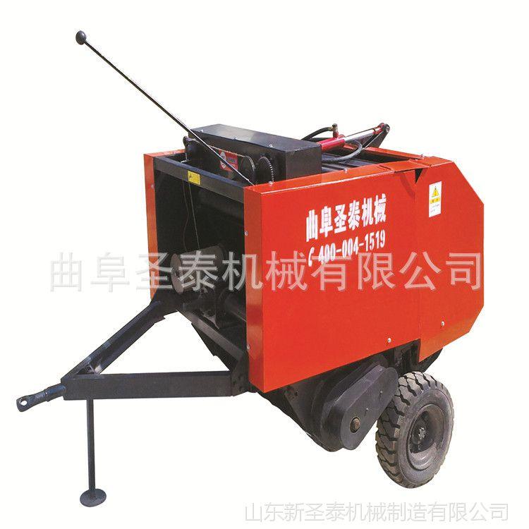供应高效自动捡拾牧草打捆机 苜蓿打捆机  农机出口 企业直销