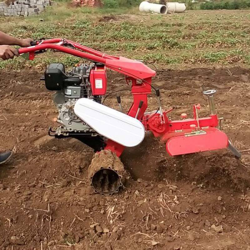 农田果园种植开沟机 多功能柴油田园管理机