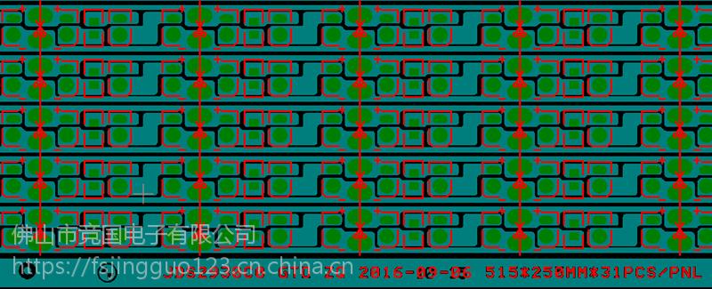 FPC柔性线路板 2835软灯条线路板 JG竞国厂家直销