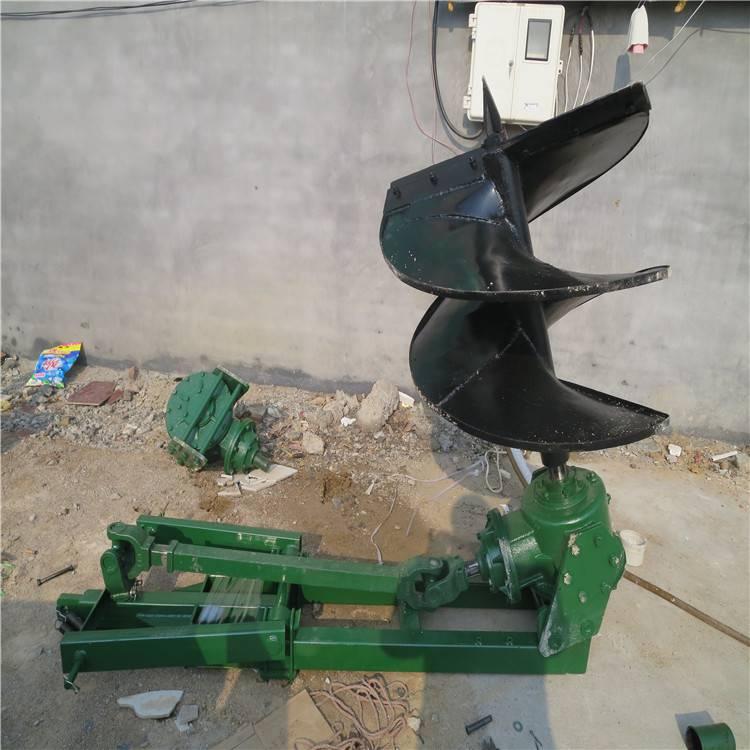 快速高效的大型挖坑机 工程工地用挖坑机润众