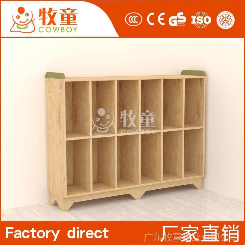 供应幼儿园书包柜实木收纳柜 幼儿园绿色环保实木书包柜定制