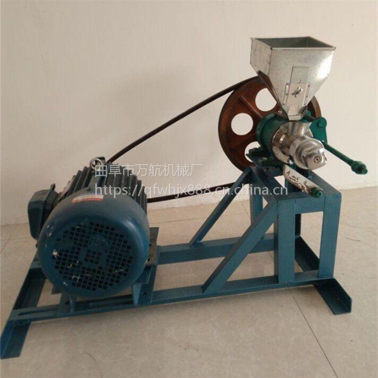 休闲食品加工机械 万航玉米饼干膨化机