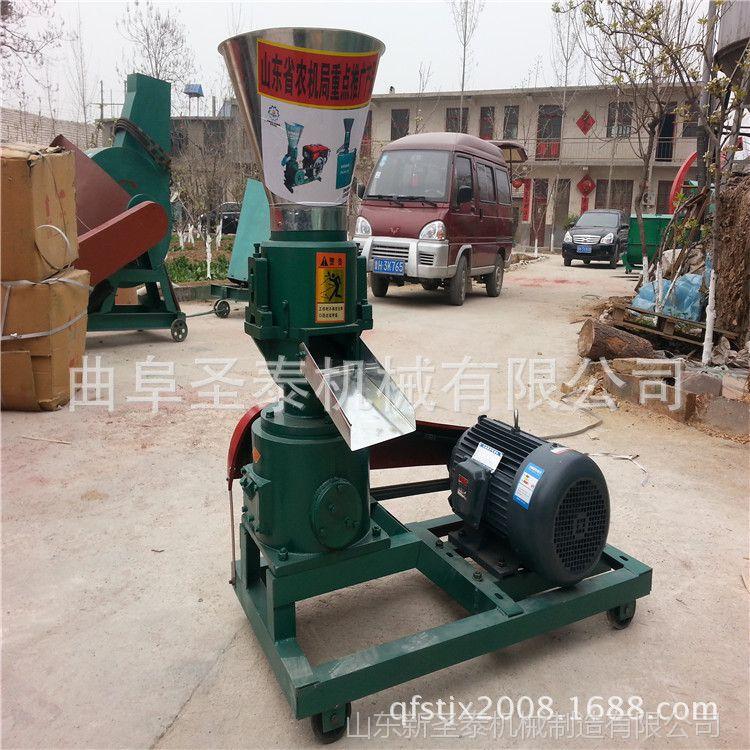 家禽饲料成型机 新疆羊饲料颗粒机 200型饲料机