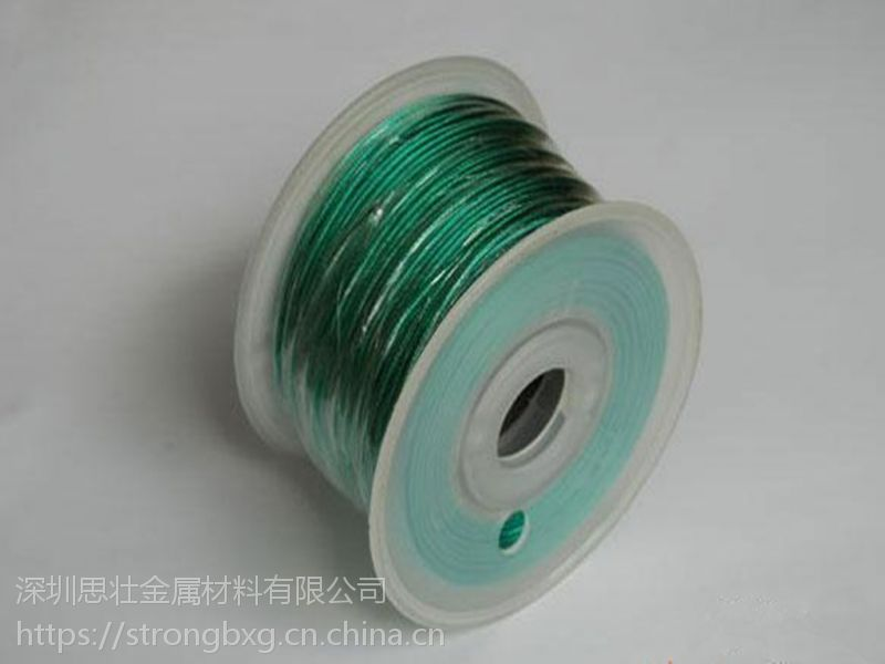 优质尼龙包胶316L不锈钢丝绳 耐磨金属制品绳