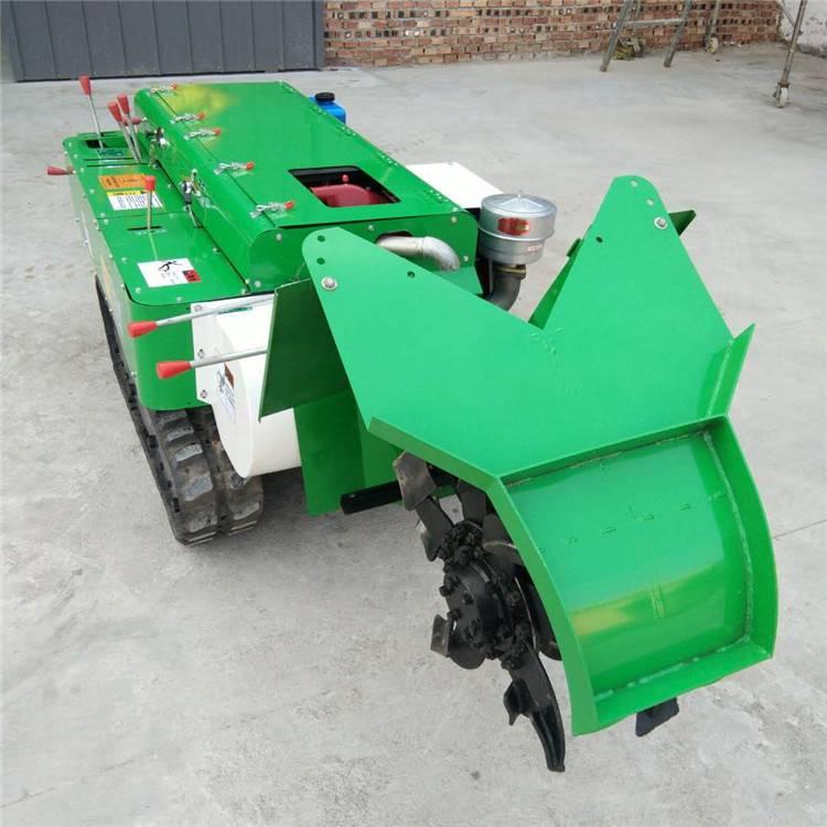 【链式开沟回填机 轮式开沟旋耕机 管理机械安耕机】 润众
