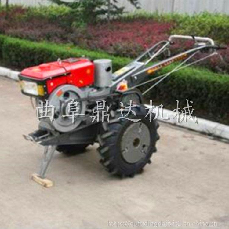 农业机械菜园手扶拖拉机 水稻田地专用水田轮手扶拖拉机 鼎达