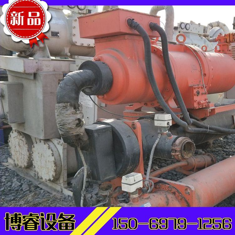 梁山二手设备市场供应汉钟冷水机组一台,型号R090W水冷冷水机组