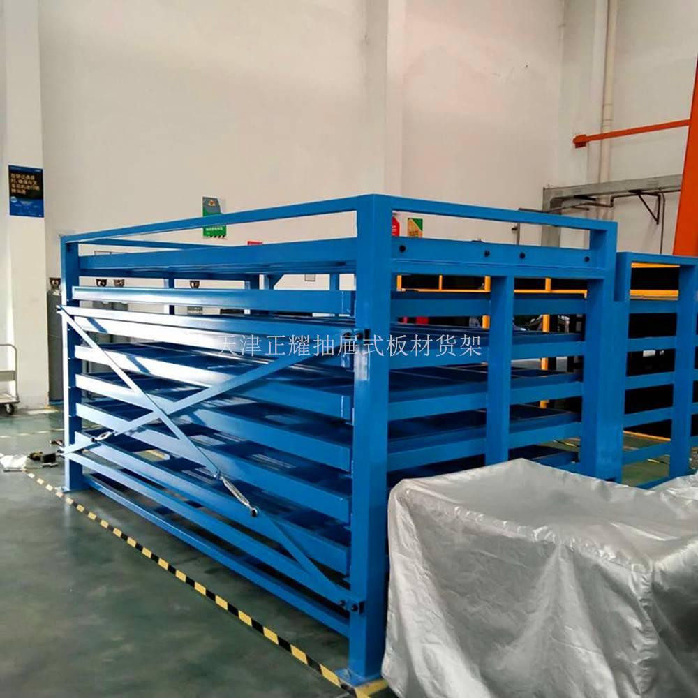 多层钢结构货架 立体货架组合 山西厂家