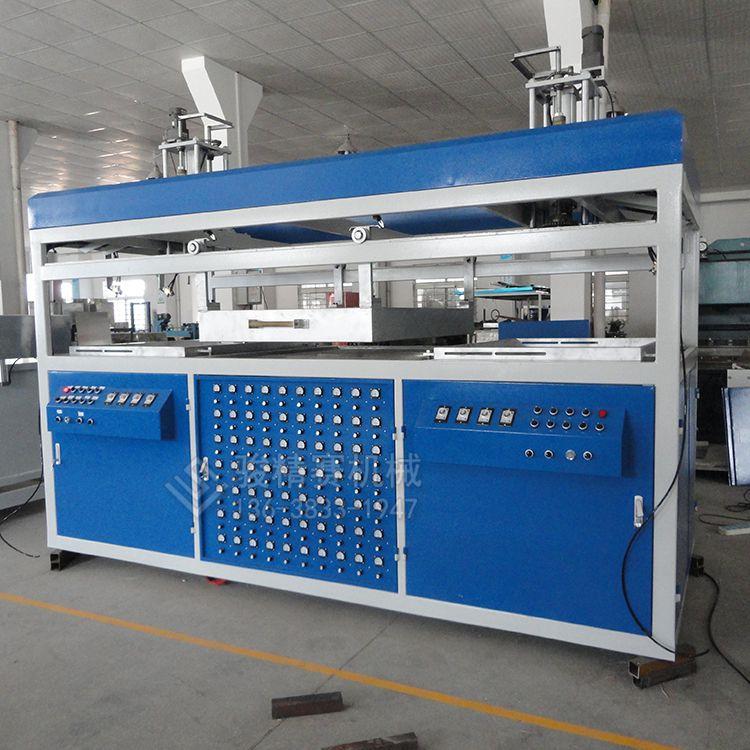 广东广州吸塑机厂家 ABS车载箱包外壳吸塑机 车顶储物箱吸塑生产机