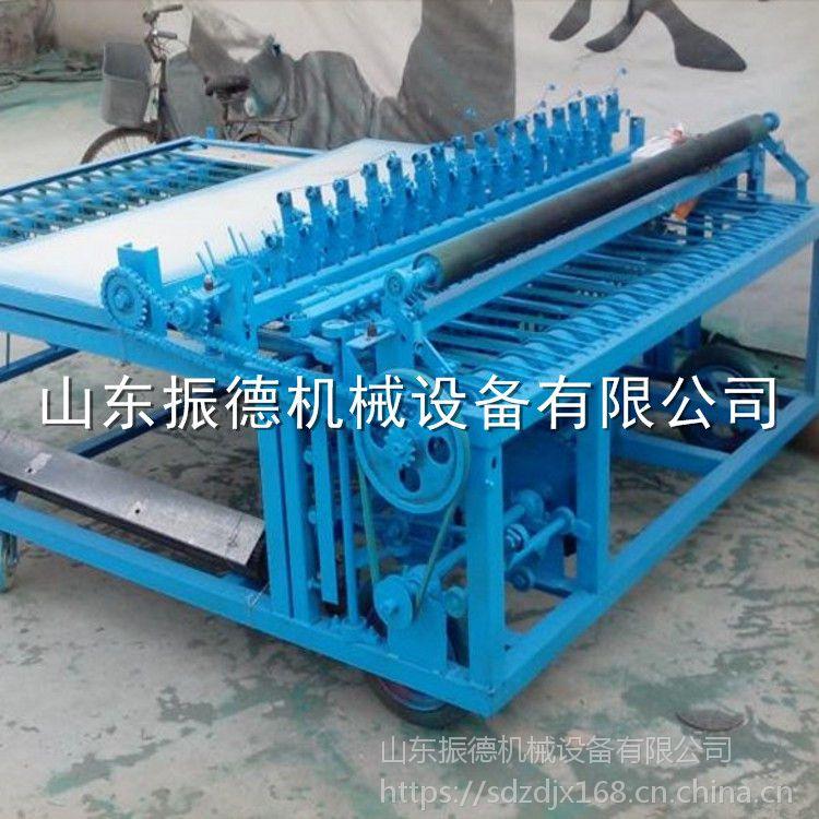 新型公路养护专用草帘机 振德牌 秸秆编织机 电动草席机 促销