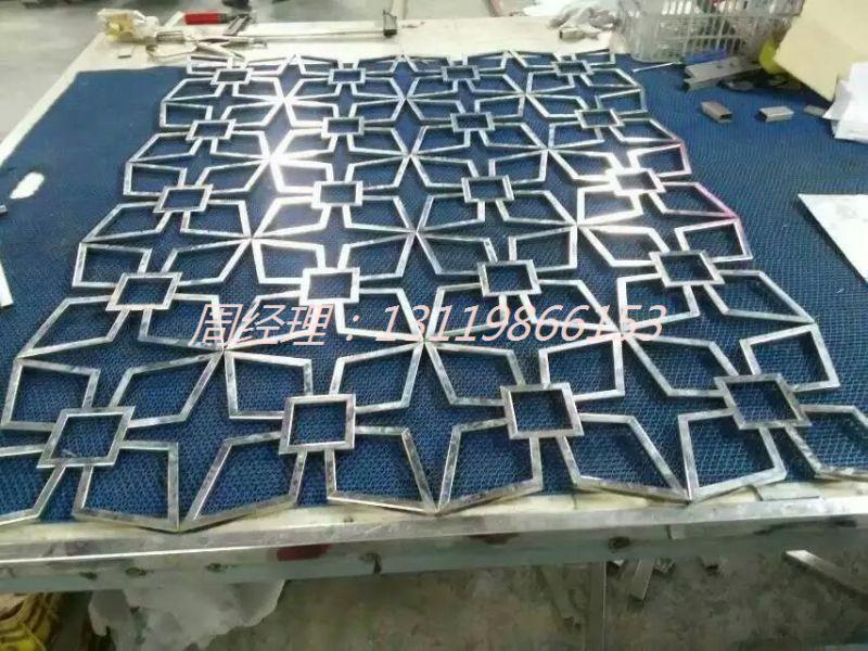 大方得体铝板雕刻古铜屏风订做来图制作浮雕屏风