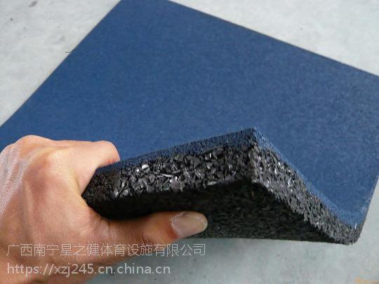 减震防砸地胶EPDM彩点橡胶地板 可满足不同地域的使用