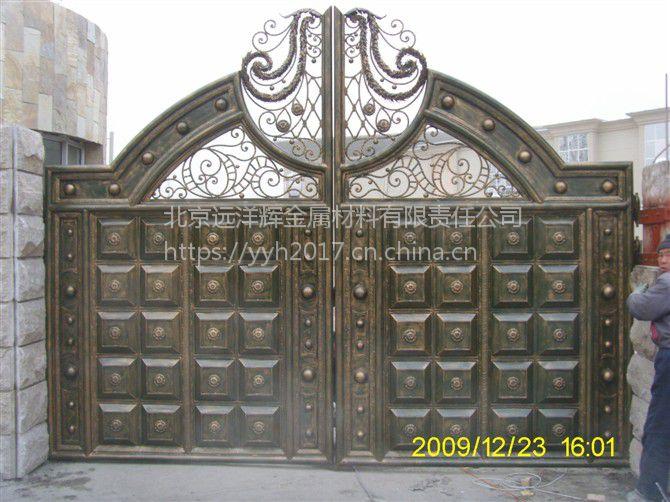 远洋辉 铜门 铝门 楼梯扶手 阳台护栏