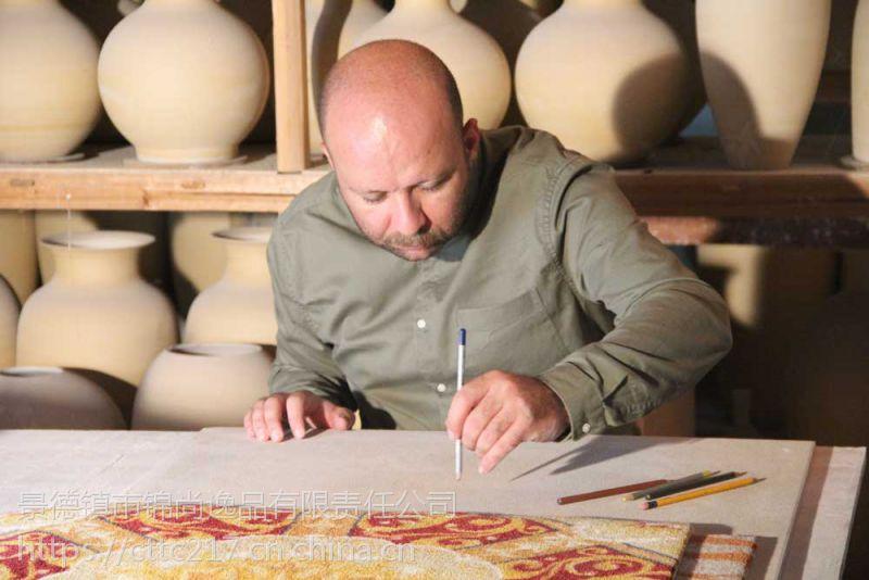 艺术家装背景墙瓷砖 波浪纹陶瓷地毯砖地板砖