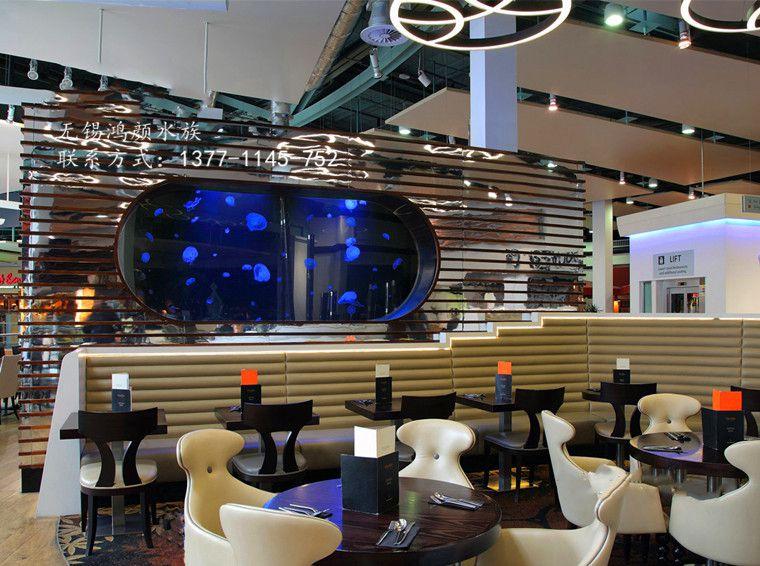 上海海洋馆大型鱼缸定做厂家