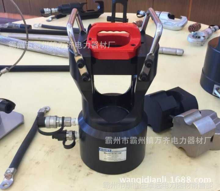 压接钳 大型压接机 60T 泰州 施工照片