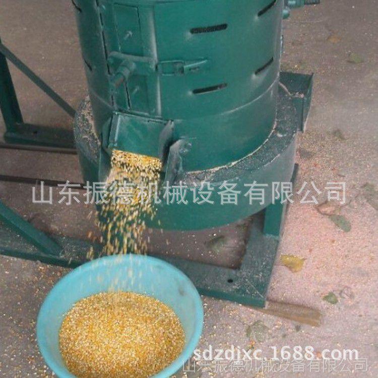 振德牌 多功能谷子碾米机 水稻脱壳机 电动砂棍碾米机 直销