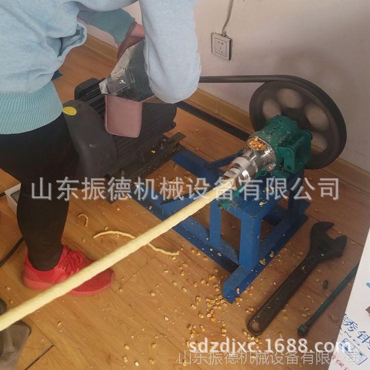 麻花7型五谷杂粮膨化机 甘肃创业 汽油带动江米棍膨化机 振德自销