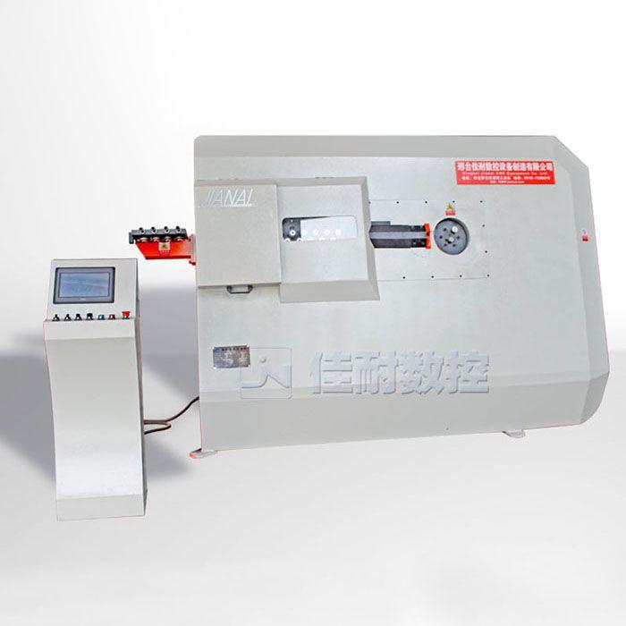 钢筋螺旋筋机不自动切割数控弯箍机接线图 钢筋切断机型号 佳耐
