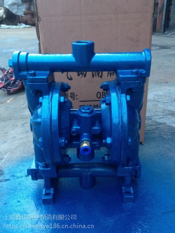 粘结剂隔膜泵QBY-25不锈钢配F46膜片 大安市化工泵
