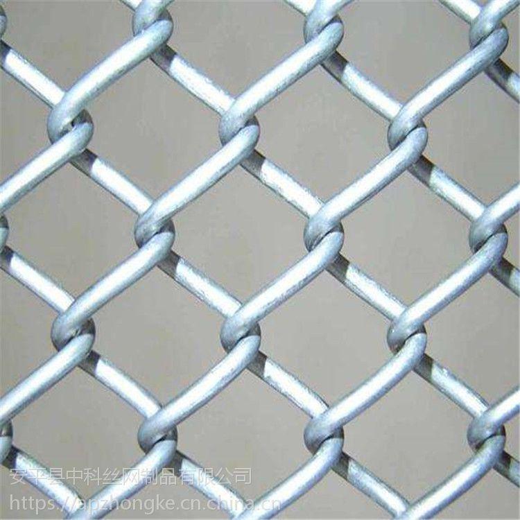 镀锌勾花网 鱼塘防护勾花网 防护铁丝网