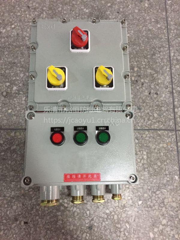 BXM-3K 带总开关防爆配电箱 乐清裕恒防爆
