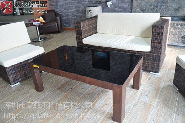 鑫飞XF-GG43C 43寸液晶显示器现代智能洽谈桌会客桌液晶显示屏触摸一体机智能家具