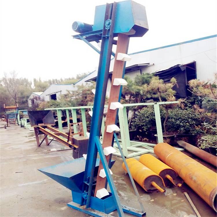 化工颗粒用斗式提升机 兴运工业用碎石板链斗式提升机