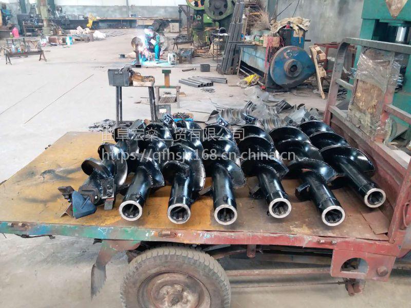 厂家直销 螺旋式立柱挖坑机 车载式电线杆钻坑机