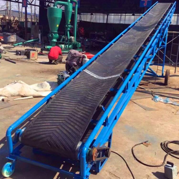 爬坡输送机 水泥专用装卸输送机价格 品牌