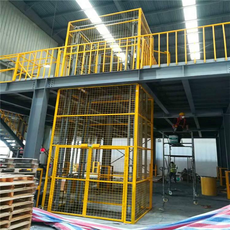 坦诺吉林3层家用液压货梯2层厂房升降货梯生产厂家