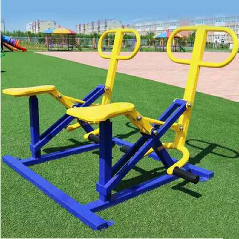 新疆室外健身路径平步机批发商,户外健身梅花桩批发,质优价廉