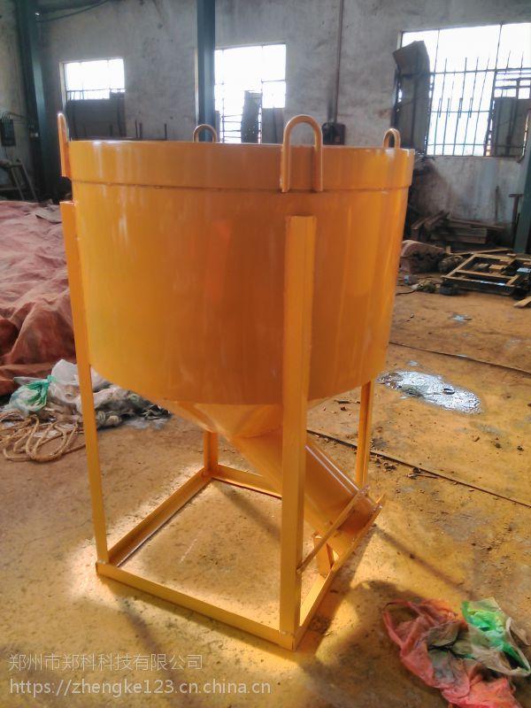 台州郑科600/800型方/圆偏出料料斗出料管可收放加长