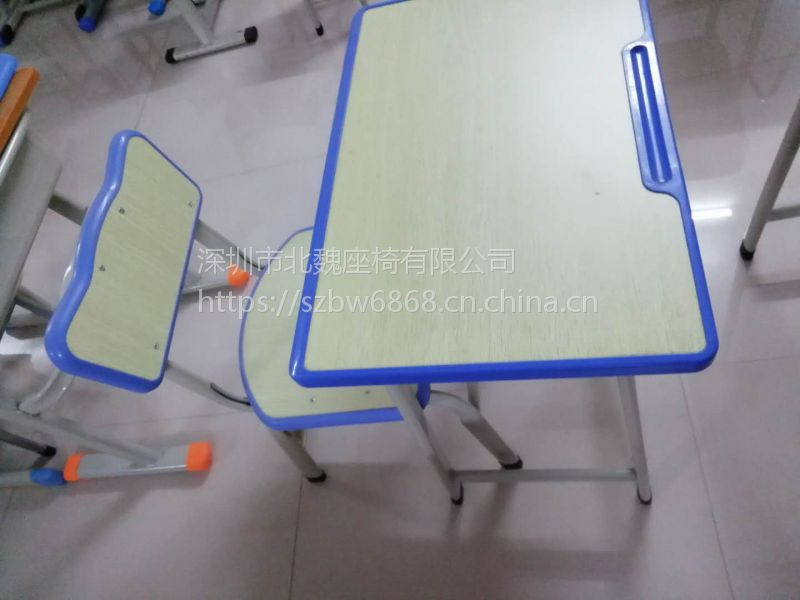 KZY001【海口市学生课桌椅】价格_厂家_图片
