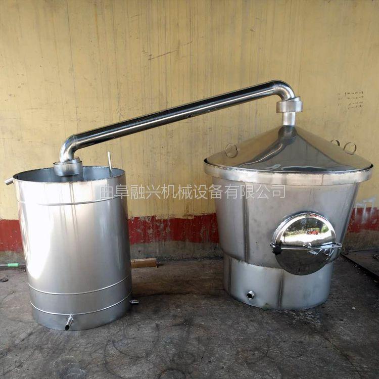 石家庄白酒酿酒设备一套多少钱 机械化烤酒机械 小型对辊粉碎机产量