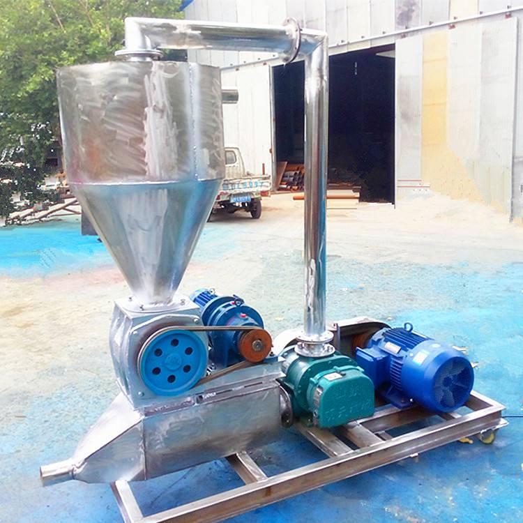 [都用]高扬程玉米吸粮机 脉冲除尘式粉料输送机 罗茨风机吸粮机