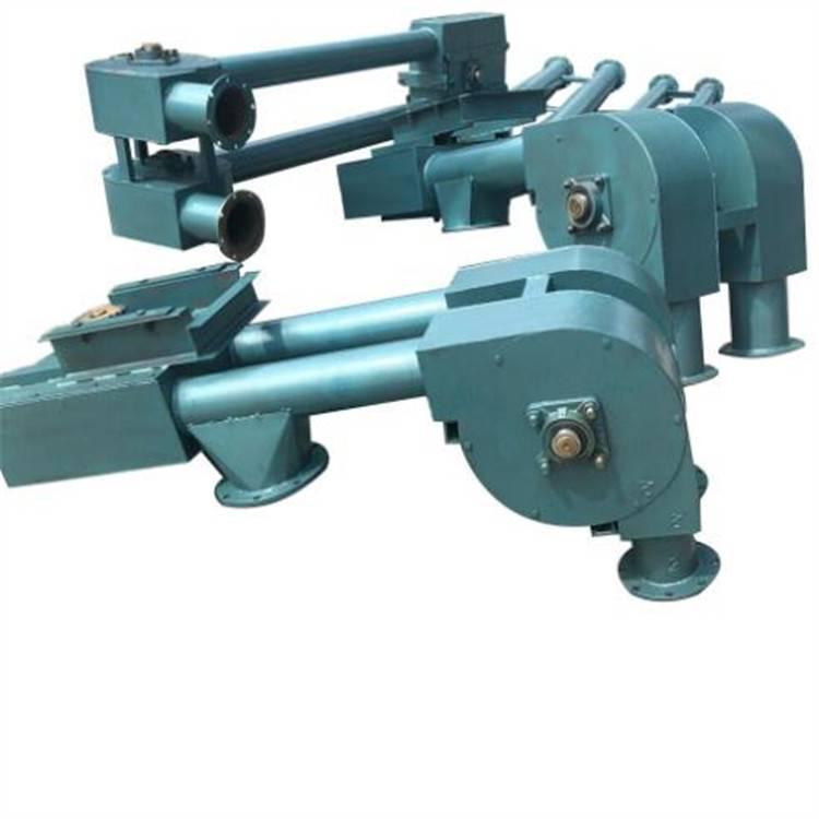 精细粉料用管链提升机 兴运耐酸碱高高温型管链输送机