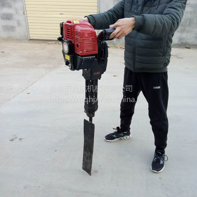 起树挖树机型号 链条耐用的断根挖树机 启航链条起树机型号