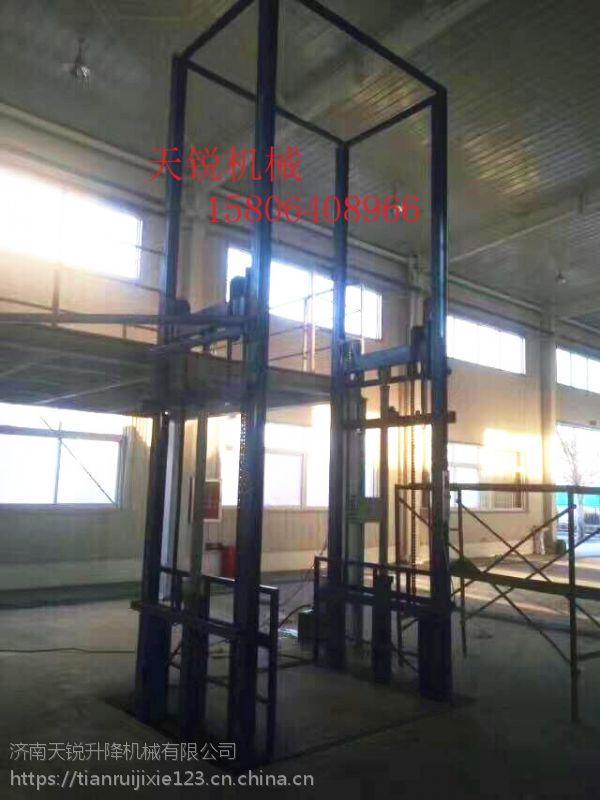 天锐导轨式升降货梯 运城2层导轨升降货梯哪生产?