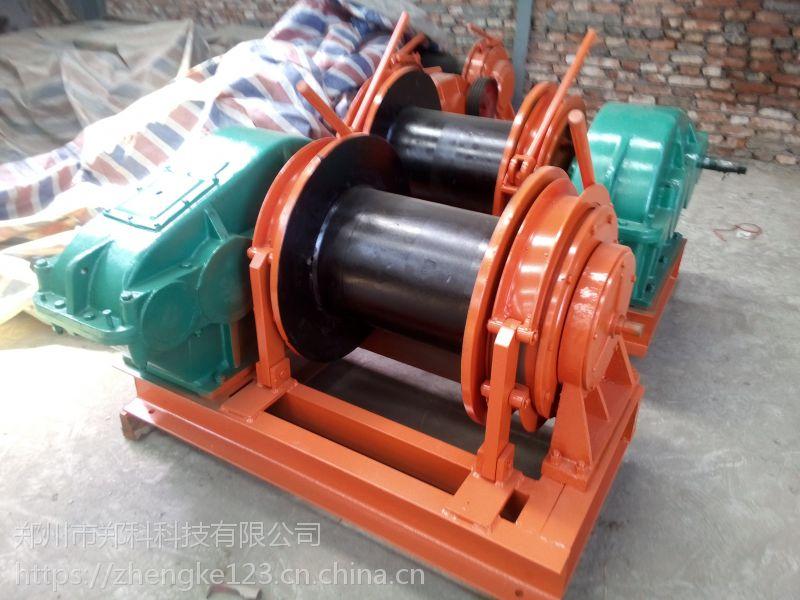 浙江台州郑科5吨行星式通风散热卷扬机耐用可靠