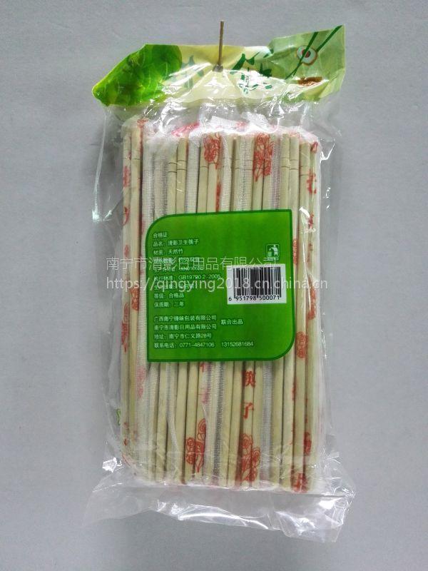 广西超市供应商宜州一次性卫生筷子批发小吃筷子价格厂家批发