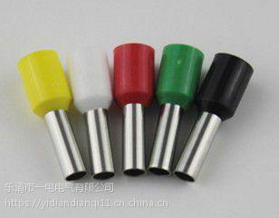 浙江一电E1508管型冷压端头1.5平方接线端子针式铜鼻子插针形1000只/包