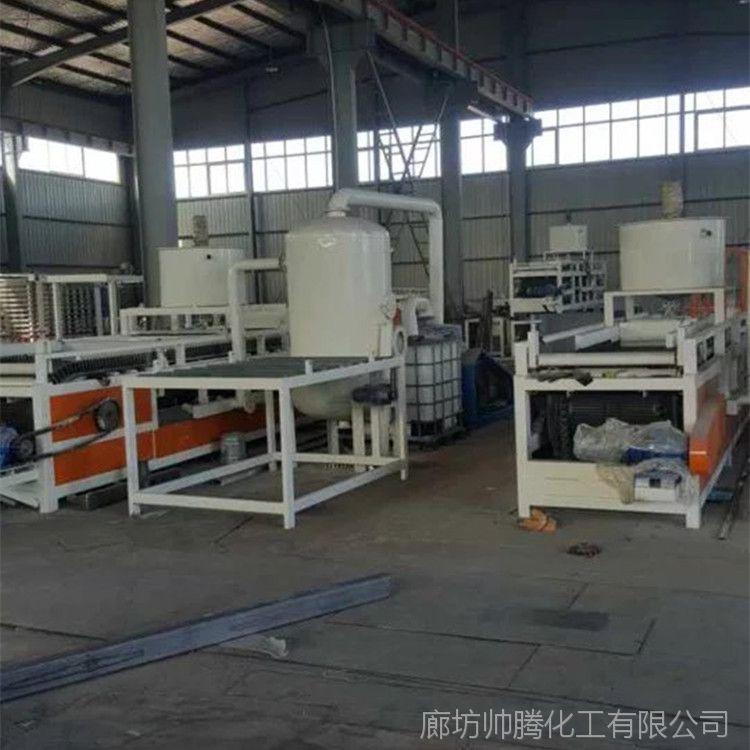 帅腾直销 优质硅质保温板设备 A级聚合物板生产专用