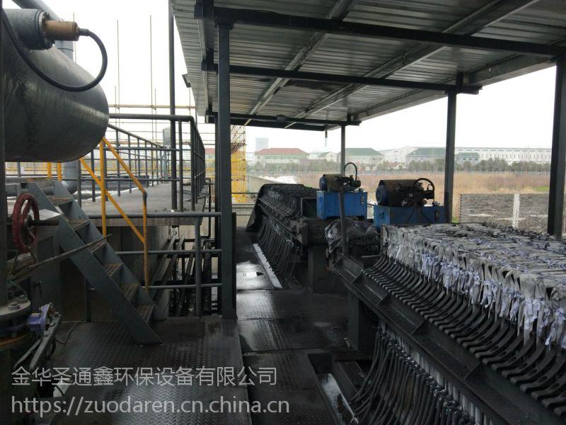 板框式泥浆压干设备高铁打桩泥浆压干设备